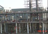 NDT Service-Tarim oilfiled's gas and oil processing plant