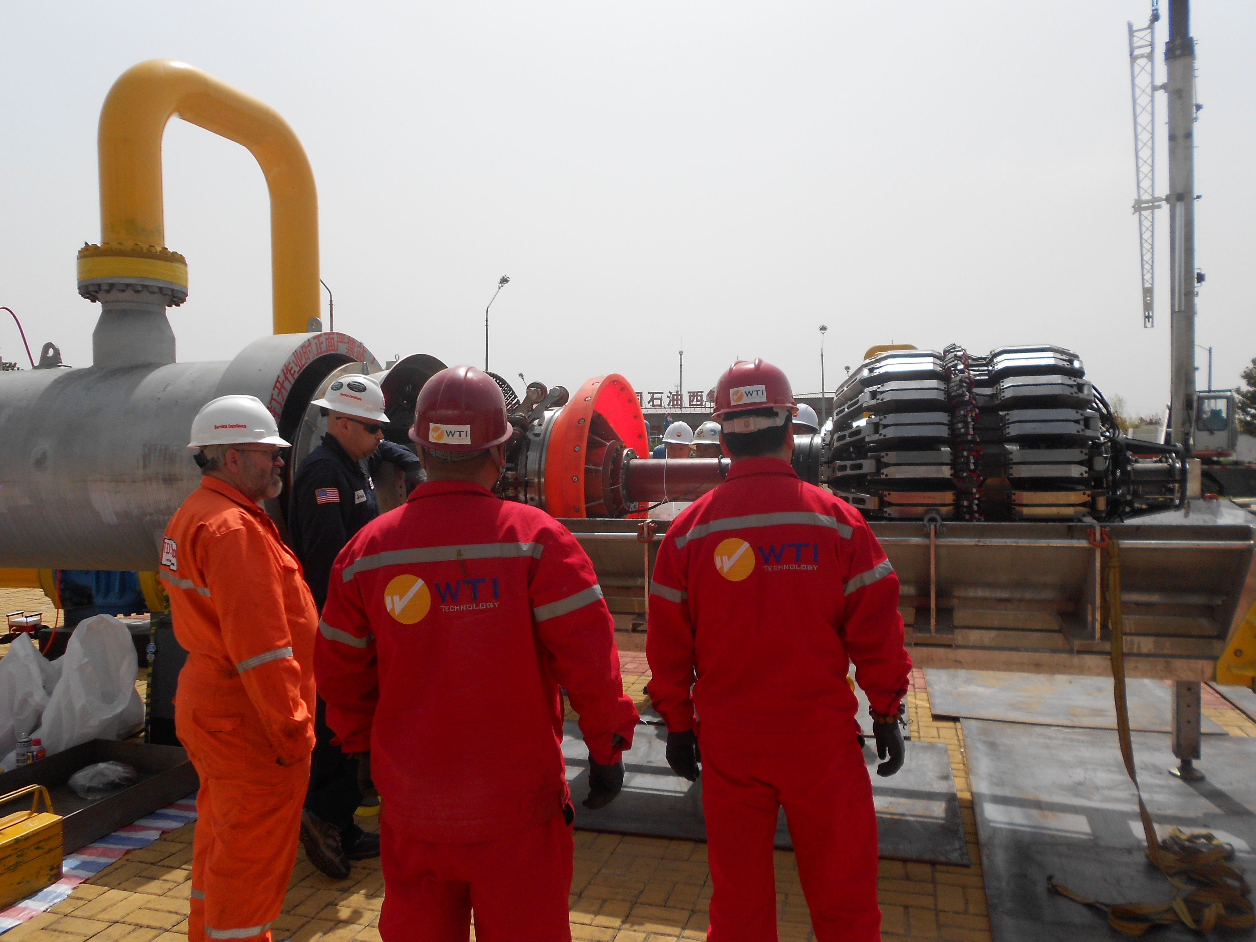 ILI Project of Petrochina West to East Pipeline